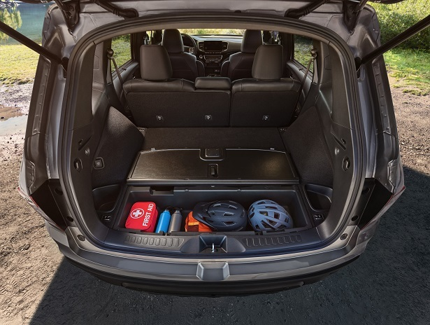 2019 honda passport cargo