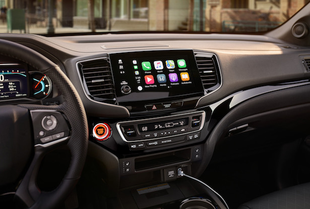 2019 honda passport infotainment