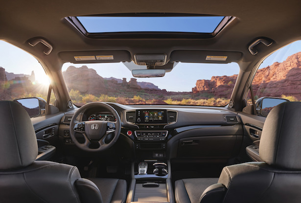 2019 honda passport cabin