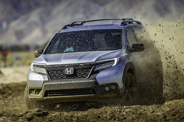 honda passport mud