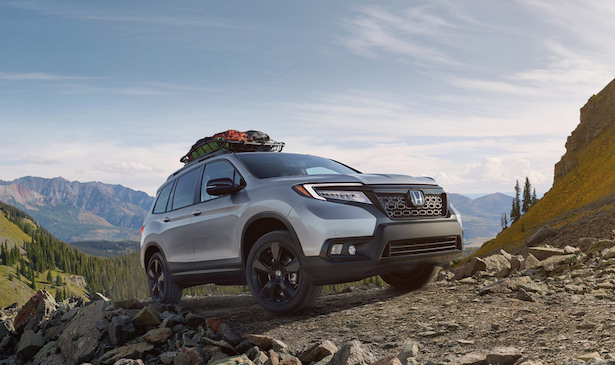 2019 honda passport rocks