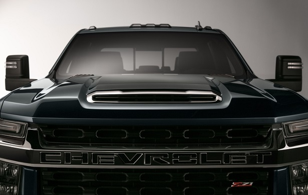 2020 chevy silverado hd hood and grille