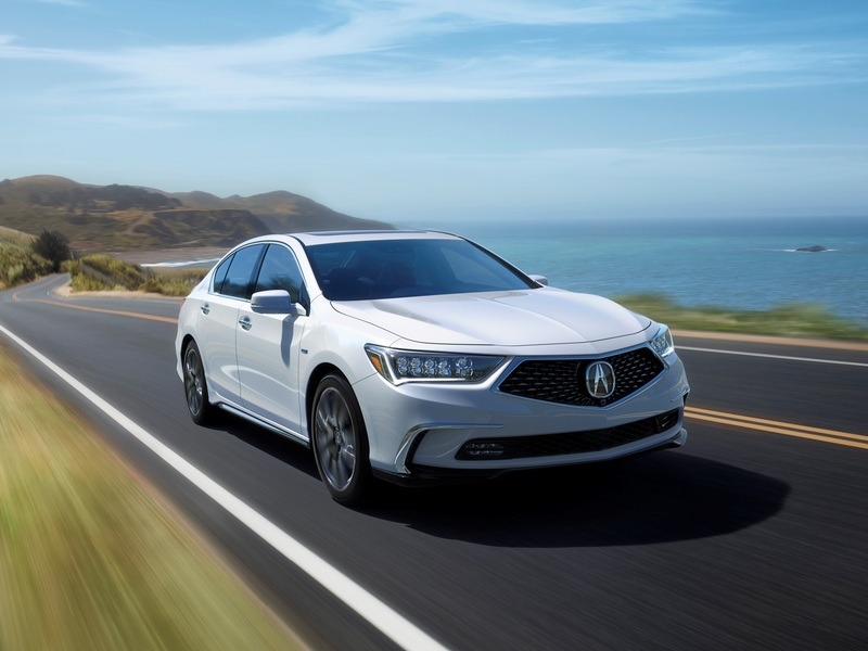 The Acura RLX Sport Hybrid has power and AWD, but it still gets ignored.