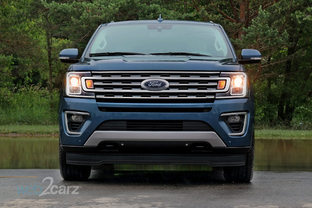 ford expedition blue front