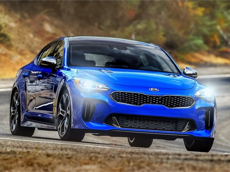 The Stinger GT has it all, including killer looks.