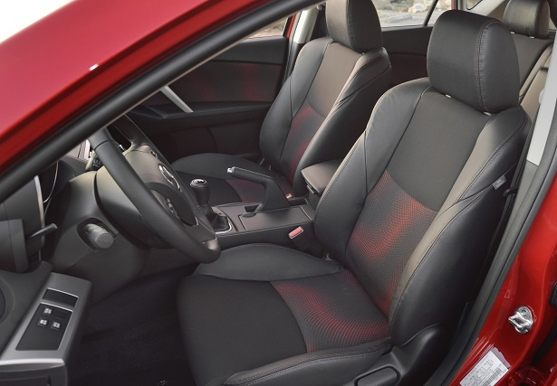 mazdaspeed3 red seats