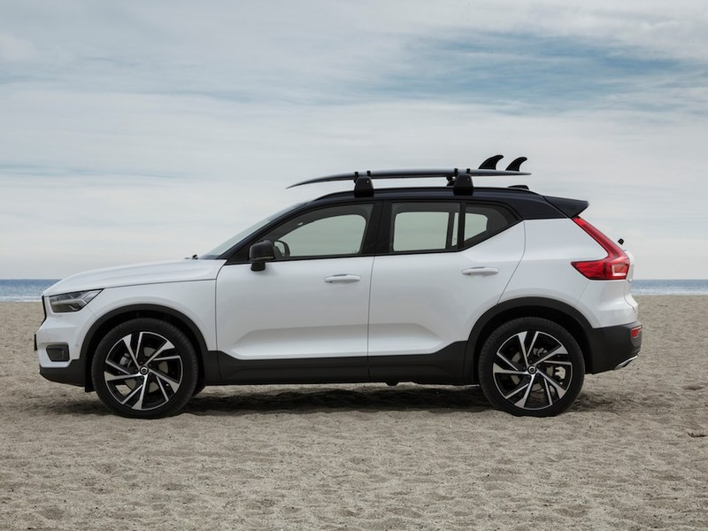 Sand or snow, rain or shine, the XC40 stands apart.