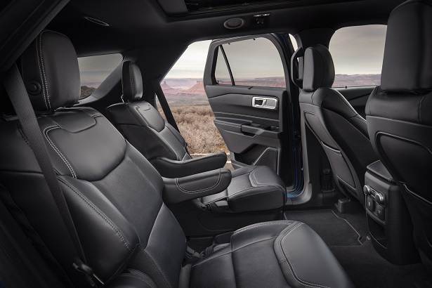 2020 ford explorer rear seating