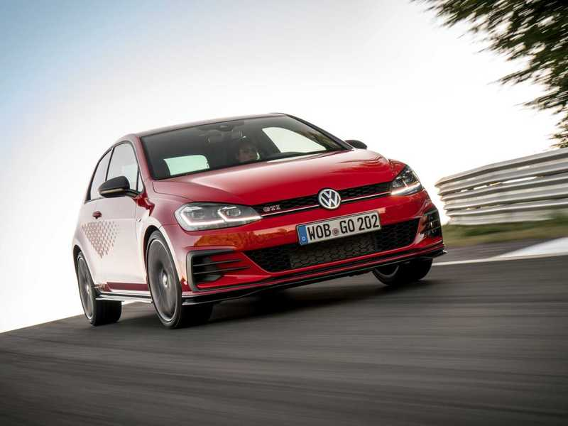 The TCR is even more trackworthy than the current GTI.