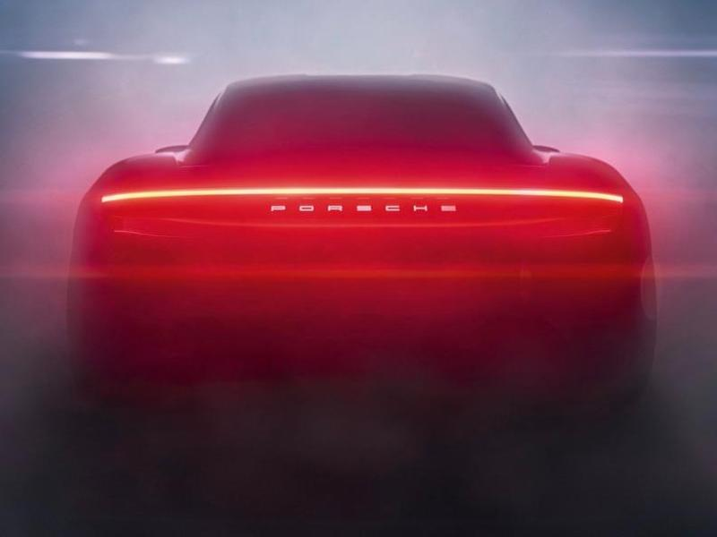 Even the taillights are intimidating.