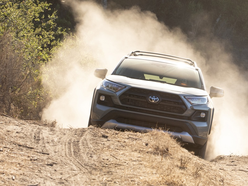 Compact AWD vehicles like the RAV4 are small yet mighty. (image: Toyota)
