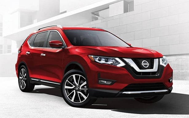nissan rogue red front 34
