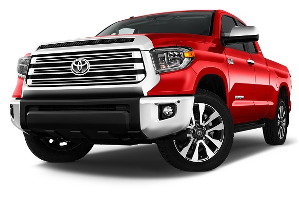 toyota tundra red front 34