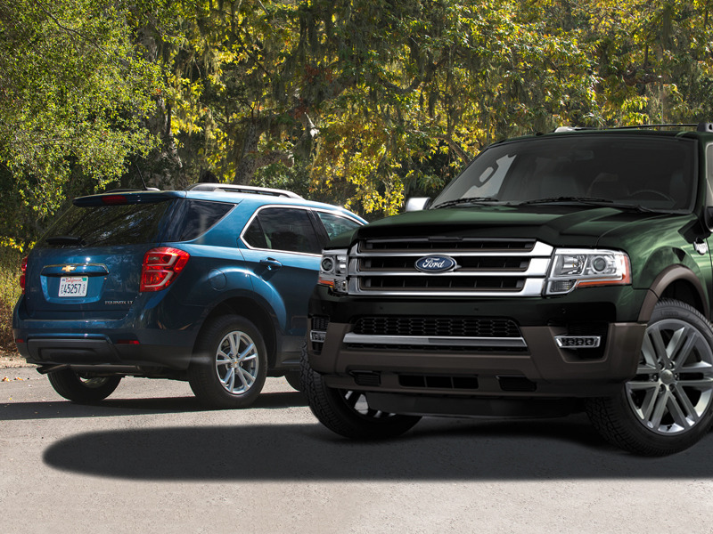 From compact to large, these are the SUVs to count on according to J.D. Power.