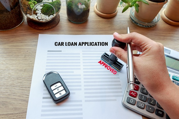 car loan application approved