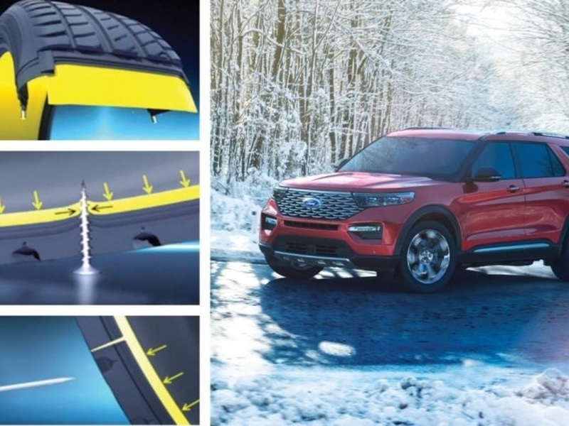 Can't change a flat? You'll want to buy the 2020 Ford Explorer. (images: Ford)