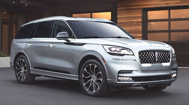 lincoln aviator silver front 34