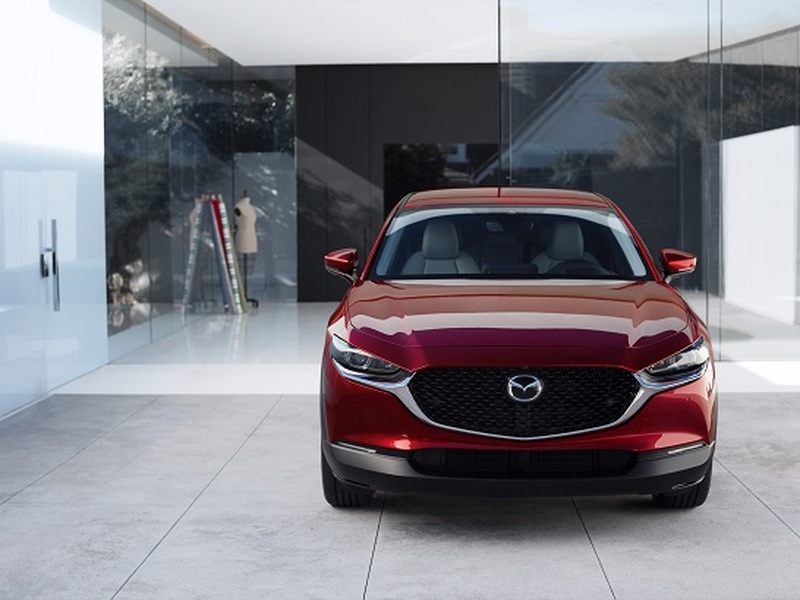 The eye catching CX-30 is sized for small families, singles and empty-nesters. (images: Mazda)