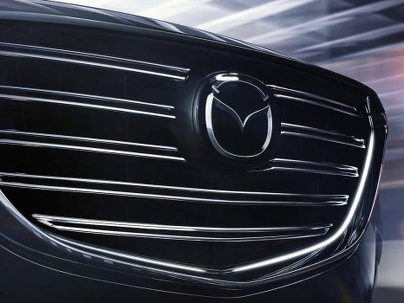 Mazda's fancy grille looks ripe and ready for a bigger body.