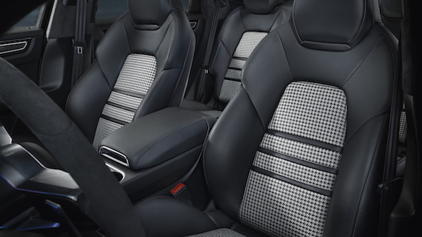 cayenne coupe seats