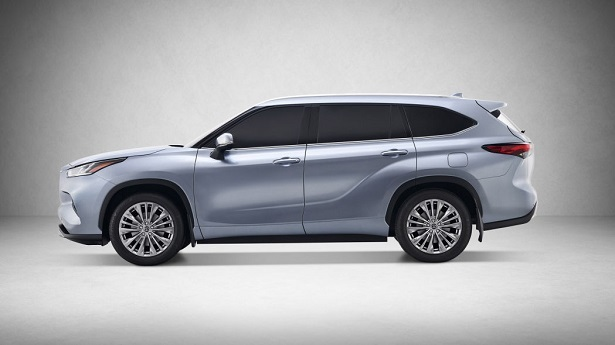 2020 toyota highlander profile