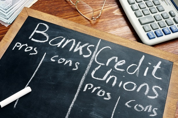 banks and credit union pros and cons