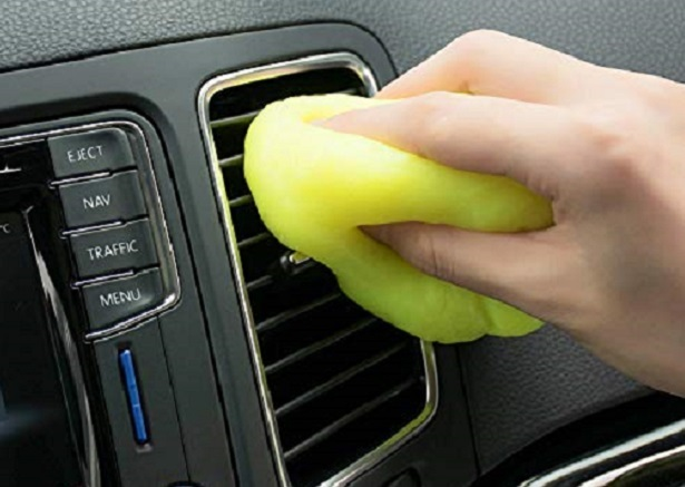 car vent cleaning gel