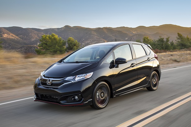 honda fit sport black