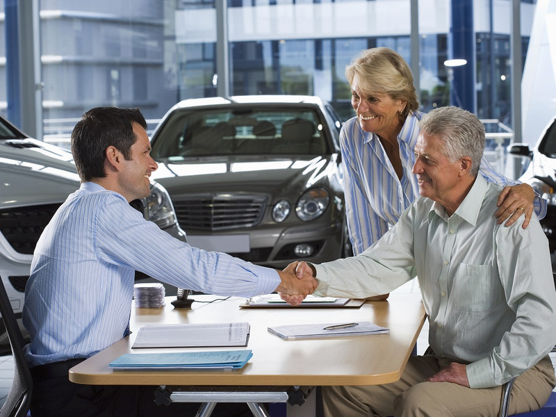 Take the stress out of buying a vehicle in your golden years.