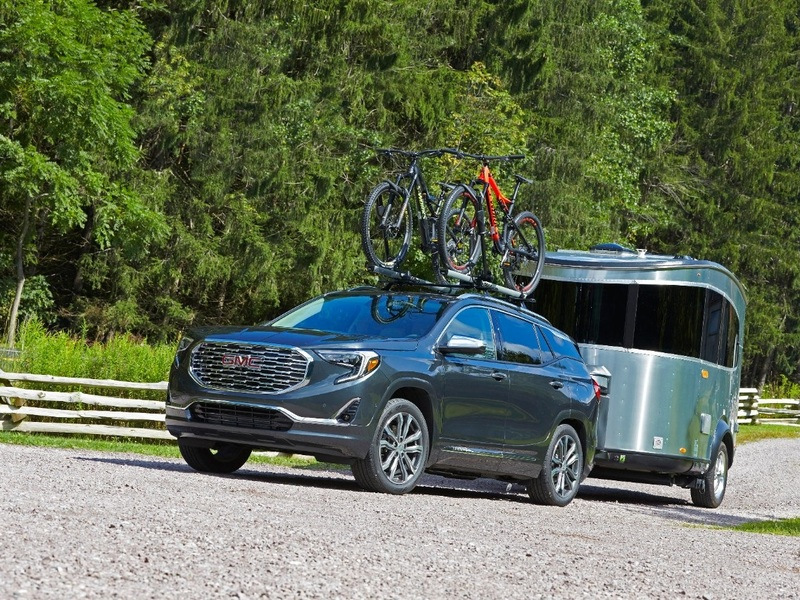 A compact SUV like the 2019 GMC Terrain can be a towing machine. (image: GM)