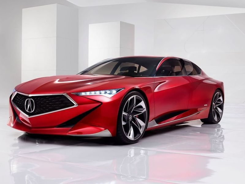 The Acura Precision Concept would make a great Legend.