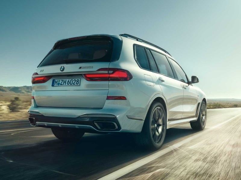 Subtlety is not the BMW X7 M50i's strong suit.