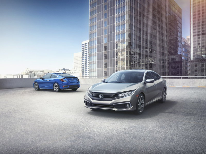 The success of the Honda Civic among first time buyers offers a glimmer of hope for the segment. (images: Honda)