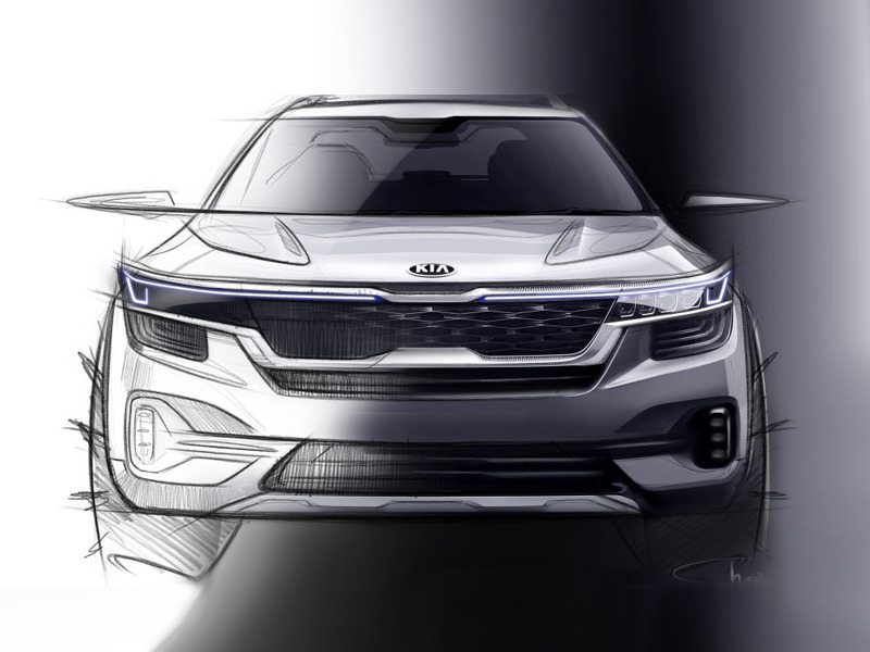 Now, that's one mean visage on what should be Kia's smallest crossover.