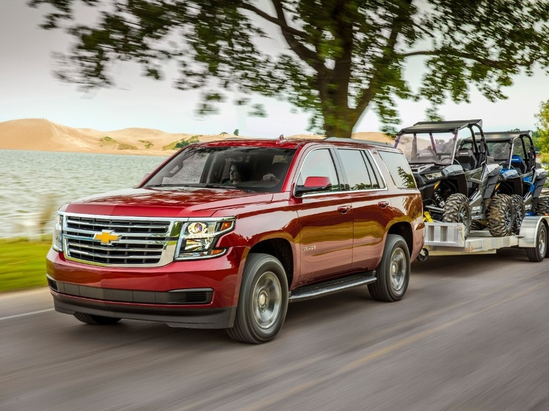 V8 SUVs like the Chevy Tahoe let you tow or pass the guy going 15 mph under the limit.