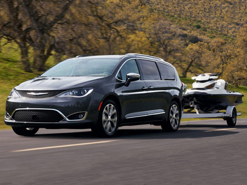 Minivans like the 2019 Chrysler Pacifica can lug more than just a gaggle of kids.