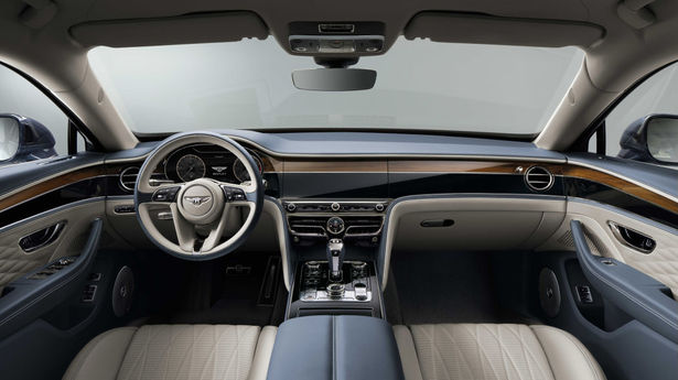 bentley flying spur dash