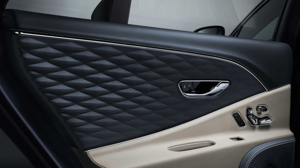 bentley flying spur door trim