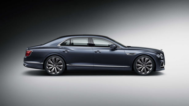 bentley flying spur profile