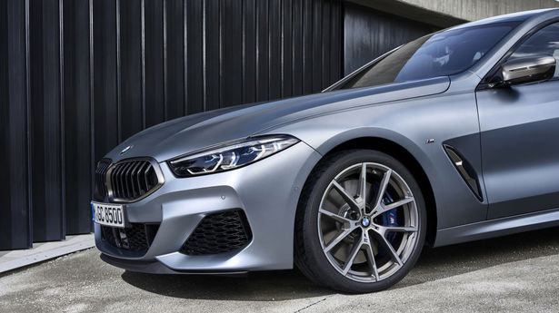 bmw m850i gran coupe front half