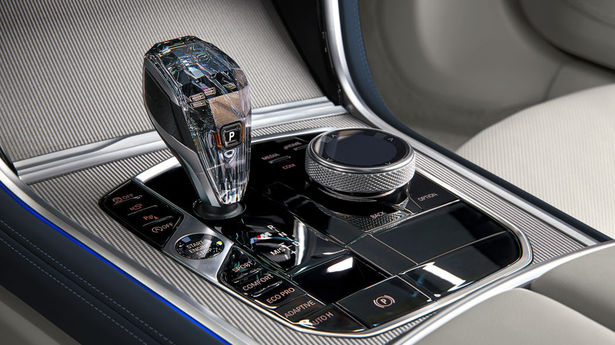 bmw m850i gran coupe shifter