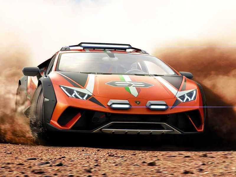 If you have enough money, we bet Lambo would build one for you.