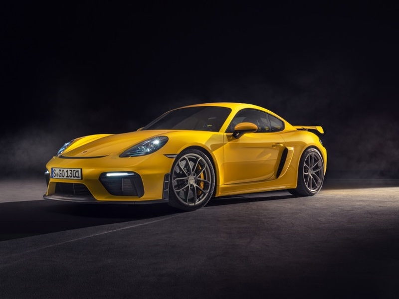 The new GT4 has us ramping up our savings plan. (images: Porsche AG)