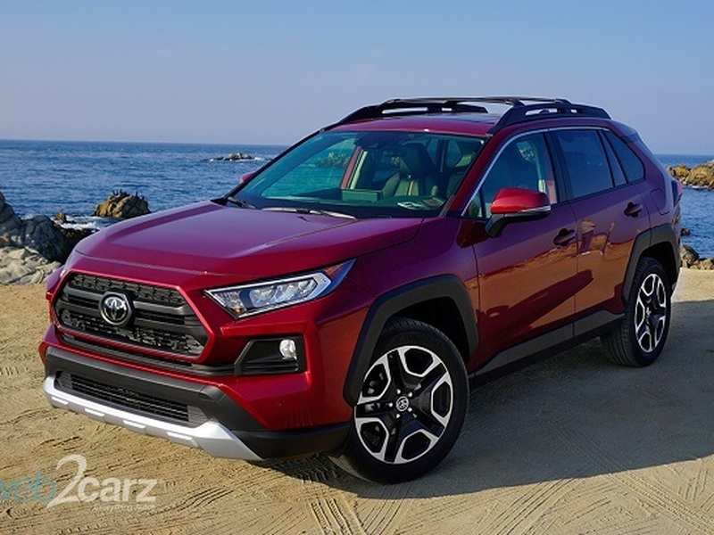 The all-new 2019 Toyota RAV4 is dominating the sales charts.