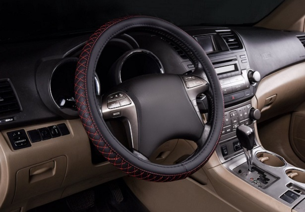horse kingdom leather steering wheel