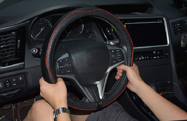 rueesh steering wheel cover