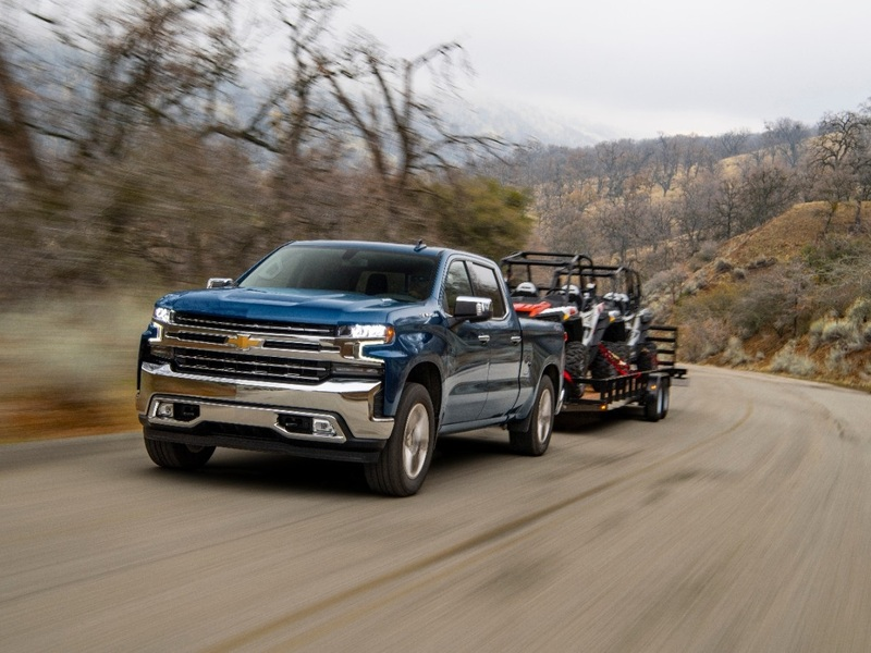 Diesel trucks like the new 2020 Chevy Silverado offer serious towing power.