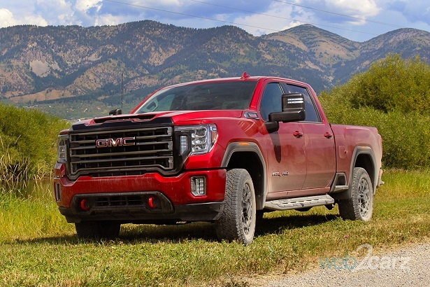 we drive the all-new 2020 gmc sierra hd, sierra 1500, and
