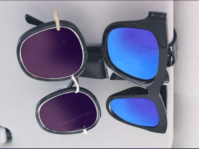 These 4 car sunglass holders offer a simple solution for misplaced shades.
