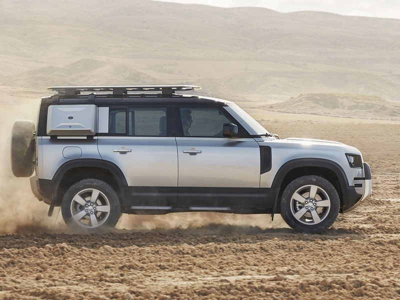 This thing will establish a new generation Brit off-road prowess.
